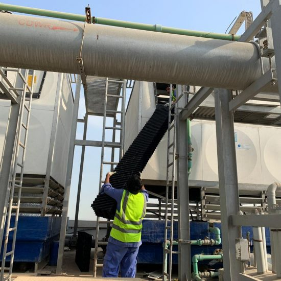 Cooling Tower Installation in Sharjah By Jord Industries